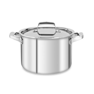 Zwilling J.A. Henckels TruClad 8-Quart Covered Stockpot