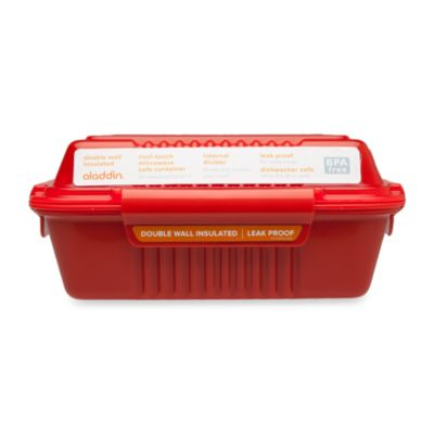 Aladdin® 24 Oz. Food To-Go Container in Red
