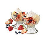 Libbey® Fountain Shoppe Classic Sundae 6-Piece Set