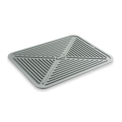 Polder® Rubberized Plastic 16-Inch x 12-Inch Flexible Dish Drying Mat