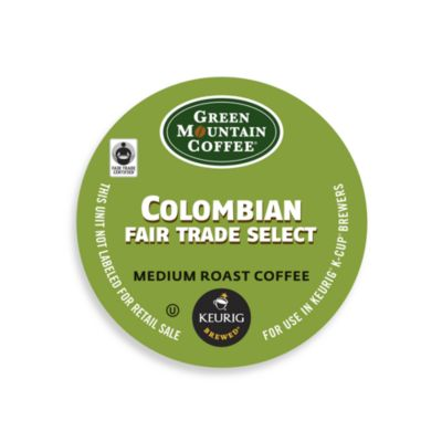K-Cup® 18-Count Green Mountain Coffee Colombian Fair Trade Select Coffee for Keurig® Brewers