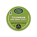 K-Cup® 18-Count Green Mountain Coffee® Colombian Fair Trade Select Coffee for Keurig®