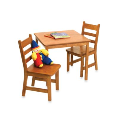 Square Table and Chair Set