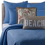 Solid Seashell Blue Quilt