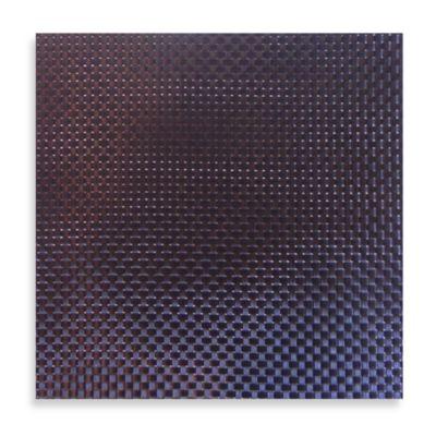 Silver Black Vinyl Placemat
