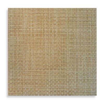 Bistro Square Vinyl Placemat in Natural