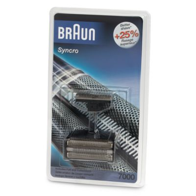 Braun® Syncro Replacement Foil and Cutterblock Combo