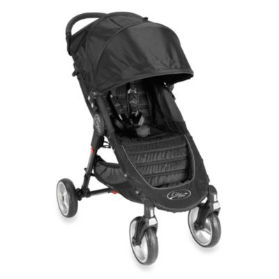 Umbrella Strollers > Baby Jogger™ City Mini Single 4 Wheel Stroller in Black