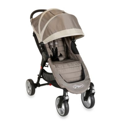 Umbrella Strollers > Baby Jogger™ City Mini Single 4 Wheel Stroller in Sand