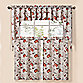 Summer Garden Natural Window Curtain Tier Pairs