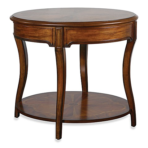 Uttermost Corianne Round Lamp Table