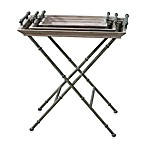 Uttermost Coyne Metal Folding Tray Table