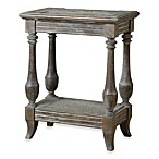 Uttermost Mardonio Wood Distressed Side Table