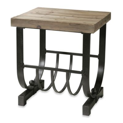 Uttermost Bijan Metal Accent Table