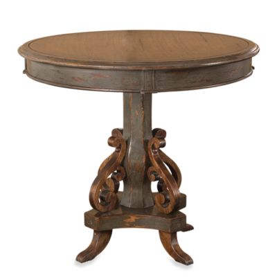 Uttermost Anya Wood Round Pedestal Table
