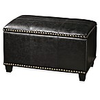 Uttermost Beckham Small Black Storage Bench