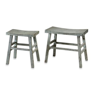 Uttermost Scout Fir Rustic Benches (Set of 2)