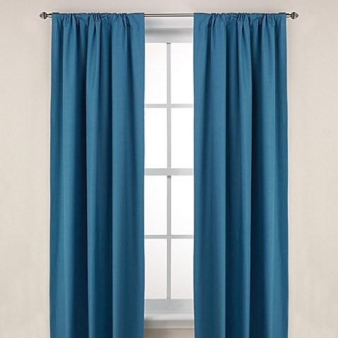 Alpha Rod Pocket 84-Inch Room Darkening Window Curtain Panel