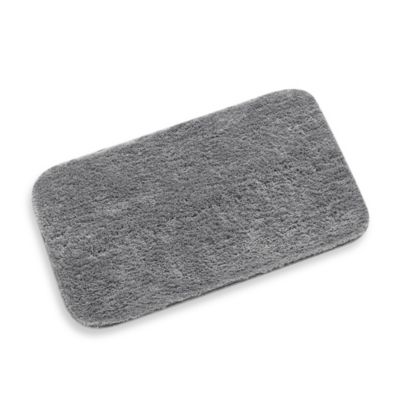 ColorSoft 20-Inch x 34-Inch Bath Rug in Grey