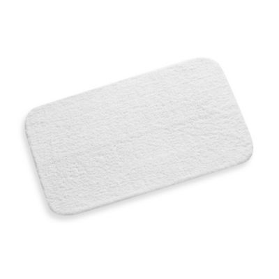 ColorSoft 20-Inch x 34-Inch Bath Rug in White