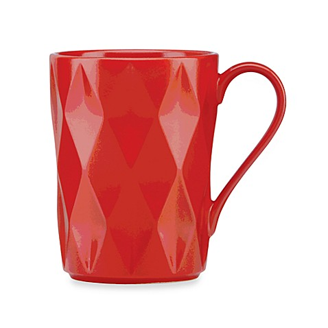 kate spade new york Castle Peak™ Mug in Chili Pepper