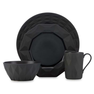 kate spade new york Castle Peak™ 4-piece Place Setting in Slate
