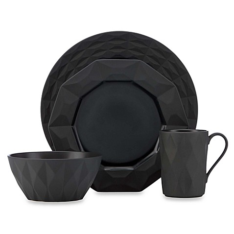kate spade new york Slate 4-piece Castle Peak Place Setting