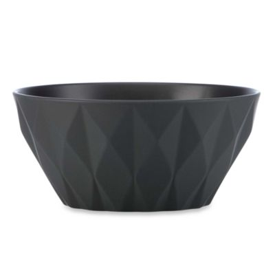 kate spade new york Slate 6.25-Inch Castle Peak Slate Soup/Cereal Bowl