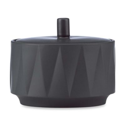 kate spade new york Slate Castle Peak Slate Sugar Bowl