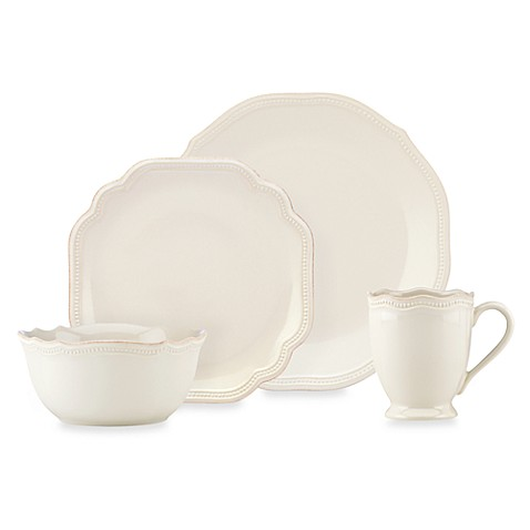 Lenox 174 French Perle Bead White Dinnerware Collection Www