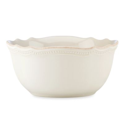 Lenox® French Perle Bead White 20-Ounce Bowl