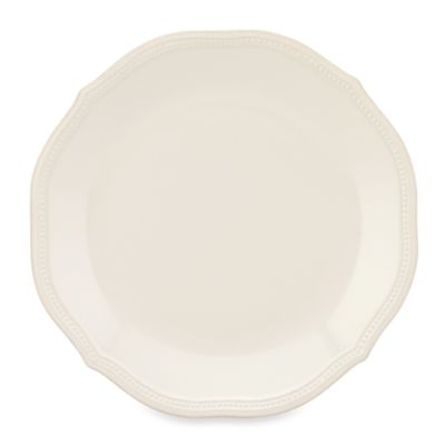 Lenox® French Perle Bead Dinner Plate in White