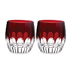 Waterford® Mixology Talon Red Double Old-Fashioned Glass - Set of 2
