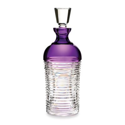 Waterford® Mixology Circon Purple Decanter