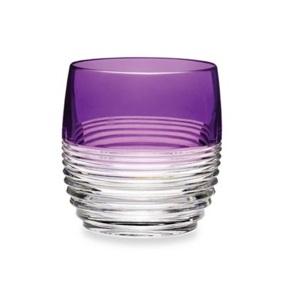 Waterford® Mixology Circon Purple Double Old-Fashioned Glass - Set of 2