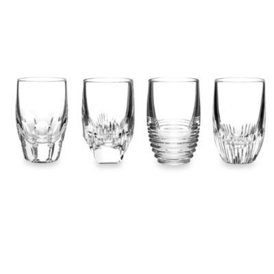 Waterford® Mixology Mixed Shot Glasses (Set of 4)