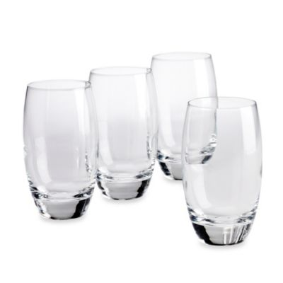 Luigi Bormioli Crescendo SON.hyx® Juice Glasses (Set of 4)