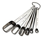 Stainless Steel Measuring Spoons (Set of 6)