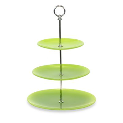 Baum Party Time 3-Tier Glass Server