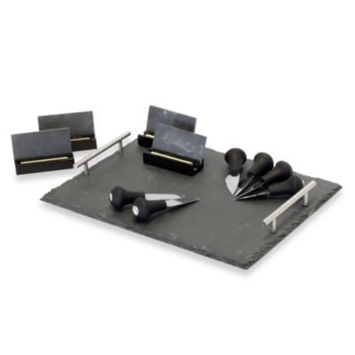 Baum 19-Piece Slate Cheese Set