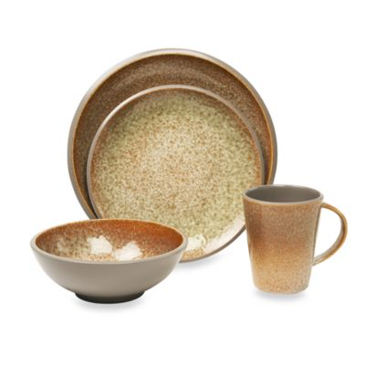Baum 16-Piece Dinnerware Set in Miso