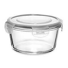 Store N' Lock Round 30.4-Ounce Storage Container