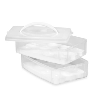 Snapware® Two-Tray Egg-Tainer