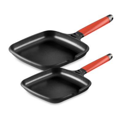 Fundix by Castey Griddles with Removable Red Handle