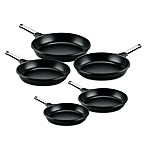 Fundix by Castey Fry Pans with Removable Stainless Steel Handle