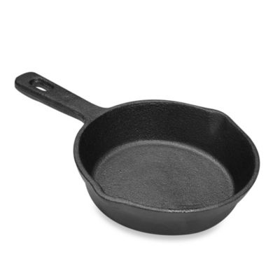 Ecolution™ Pre-seasoned 6-Inch Cast Iron Mini Fry Pan