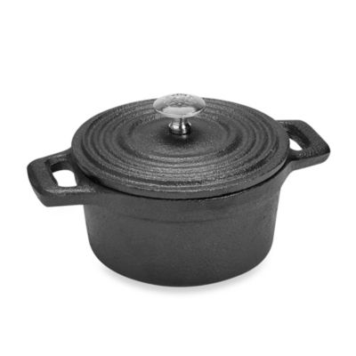 Ecolution™ Pre-seasoned 4-Inch Cast Iron Mini Casserole