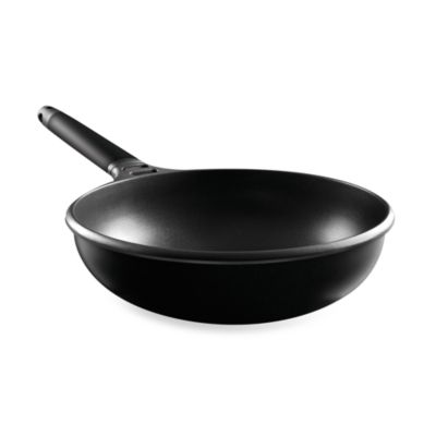 Fundix by Castey Cast Aluminum Wok in Black