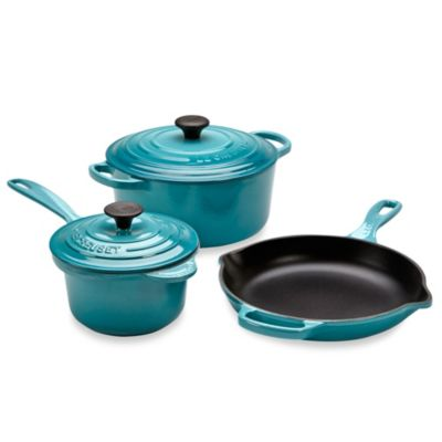 Le Creuset® 5-Piece Signature Set in Caribbean