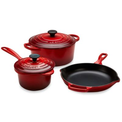 Le Creuset® 5-Piece Signature Set in Cherry